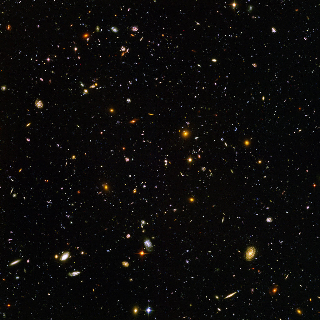 Hubble Ultra-Deep Field image
